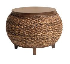 round wicker end table enchanting round wicker ottoman coffee table coffee table indoor
