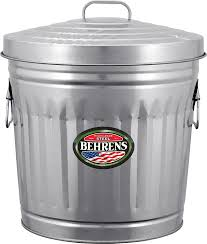 amazon com behrens 1270 31 gallon trash can with lid lidded