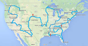 road trip map of usa ultimate usa ghost town road trip