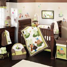 Nursery Bedding Sets For Boys Bedroom Cool Nursery Bedding Sets Jungle Theme With Brown And