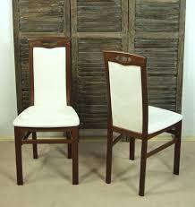 Esszimmerst Le Preis 2 X Stühle Massivholz Esszimmerstühle Stuhlset Esszimmer Nußbaum
