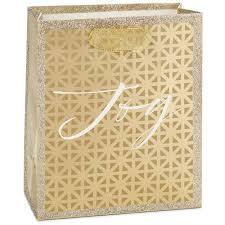 gold gift bags gold grid small christmas gift bag 6 5 gift bags hallmark