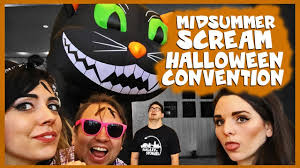 midsummer scream halloween festival 2017 vlog youtube