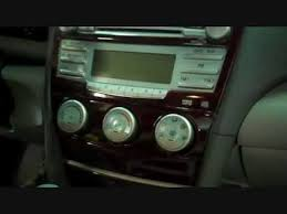 toyota car stereo toyota camry car stereo and cd player removal 2007 2011