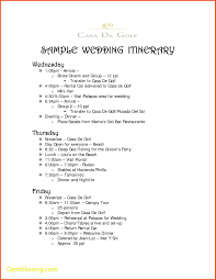wedding agenda templates wedding day schedule template best templates