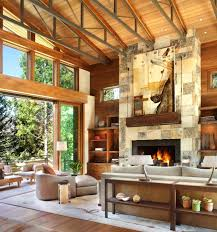 modern rustic home interior design captivating modern rustic home in the colorado mountains