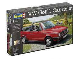vw golf 1 cabriolet revell car model kit com