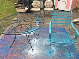 makeovermonday painting 12 year old patio furniture u2013 the daily