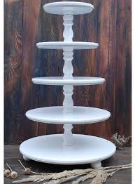 tier cake stand wedding 5 tier cake stand cupcake stand wooden white wedding