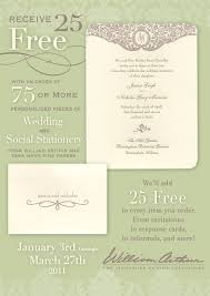 Vera Wang Wedding Invitations Invitations Lee U0027s Printing