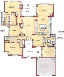 Single Storey Floor Plans by Single Story Open Floor Plans Pyihome Com