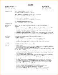 Best Resume Format For Experienced Engineers by Best Resume Format For Engineers Pdf Resume For Your Job Application