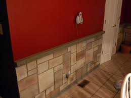 Log Siding For Interior Walls Fake Stone Siding For Bathroom Design Faux Panels Veneer Wall