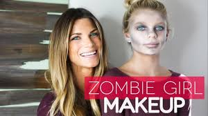easy dead zombie makeup for kids halloween 2016 youtube