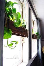 indoor window planters this gorgeous idea costs just 10 to make but it ll make you