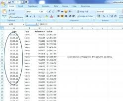 format date in excel 2007 change format of date in excel convert date into excel conversion