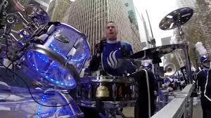 first thanksgiving parade drumming