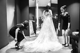 Vera Wang Wedding Here U0027s What Happened When We Tried On Vera Wang Bridal Gowns Preview
