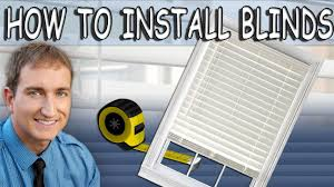 Home Decorators Collection Blinds Installation by How To Install Cordless Faux Wood Window Blinds Youtube