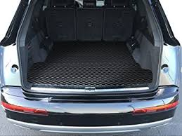 audi q7 cargo capacity amazon com toughpro audi q7 cargo mat all weather heavy duty
