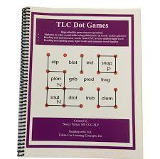 tlc pr15 tlc phonics dot games reproducible workbook reading
