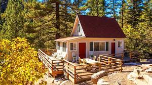 gorgeous tiny big bear cottage on 2 acres for sale tiny house