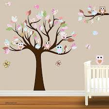 Nursery Room Tree Wall Decals Baby Tree Wall Decals Baby Room Decoration Using White