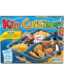 cuisine dinner frozen meal products kid cuisine