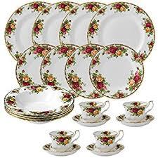 roses tea set royal albert country roses 20 dinnerware