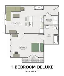 1 bedroom apartment floor plans floor plans for msu students student housing in east lansing