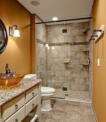 bathroom small walk in shower kits with rain shower for modern