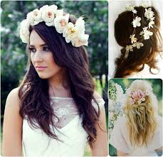 flowers for hair 6 ideas for beautiful and wedding hairstyles with flowers
