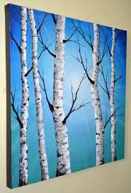 birch tree painting best 25 birch tree art ideas on pinterest