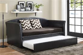 dhp furniture halle upholstered daybed and trundle