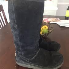 womens ugg knightsbridge boots 69 ugg boots ugg knightsbridge black back zip boot sz 7