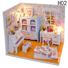 Baby Room Home Decoration Doll House Model Furniture DIY 3D Puzzle
