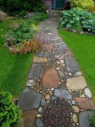garden walkway ideas creative garden walkway ideas outdoortheme com