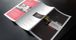 business card template tri fold business card template free