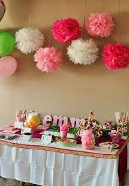 how to decorate birthday table strawberry shortcake party ideas strawberry shortcake party