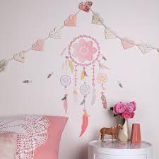 sticker chambre fille stickers attrape rêves petit modèle maé
