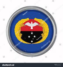 gulf logo vector 3d button flag gulf provincesautonomous regiondistrict stock