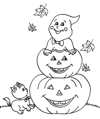 Halloween Bats To Color by 195 Pumpkin Coloring Pages For Kids