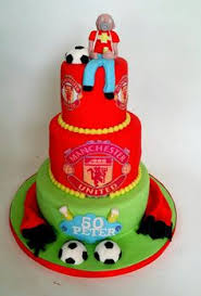 man utd birthday cake football supporters cakes pinterest