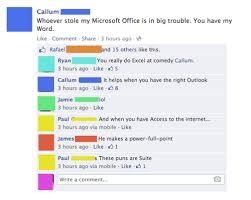 Microsoft Word Meme - the office ial microsoft office pun post failbook failing on