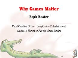 game design theory a theory of fun for game design