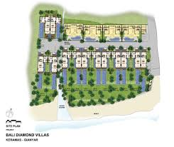 bali diamond layout bali diamond estates villas