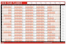 calendars and personal organisers amazon co uk 2018 a1 laminated yearly wall planner calendar with wipe dry pen sticker dots