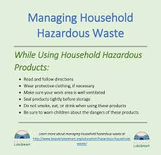 household hazardous waste ozarks water watch at beaver lake