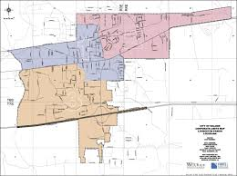 Parish Map Of Louisiana City Of Walker Finalizes Adopts Voting Districts News