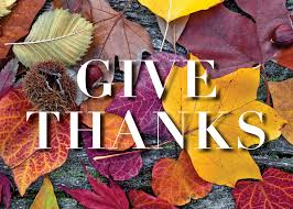 give thanks thanksgiving greeting card advanced printing
